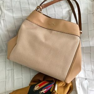 Coach Lexy Shoulder Bag in Jacquard